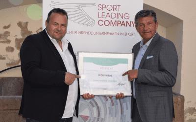 Sport-Thieme als Sport Leading Company rezertifiziert