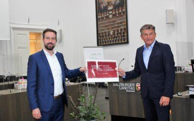Salzburgs Landesrat Mag. Stefan Schnöll unterstützt Österreichs Sport Gütesiegel